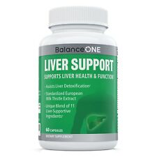 Balance ONE Liver Support - 11 Liver-Supportive Ingredients - 30 Day Supply