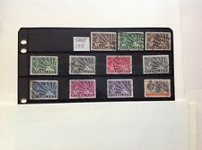 nyasaland 1938 part set x 11 stamps used