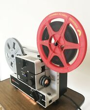 EUMIG 607D SUPER 8 STD 8 CINE MOVIE DUAL FORMAT FILM PROJECTOR FULLY SERVICED