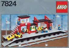 LEGO® Eisenbahn 7824 Bahnhof, Train Station, Trains