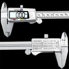 Stainless Steel 6 150mm Lcd Digital Vernier Caliper Electronic Ruler Measuring