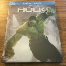 The Incredible Hulk (Blu-ray+Digital, Limited Edition Steelbook) Brand New