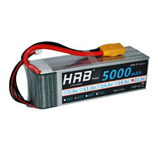 HRB LiPo Battery 22.2V 6S 5000mAh 50C-100C for RC Trex 700 Helicoptor Plane XT90