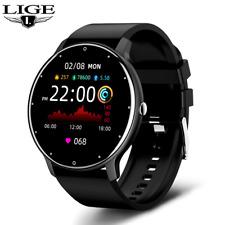 Lige 2021 Bluetooth Smartwatch Fitness Armband Fitness Sportuhr [Siehe Video]