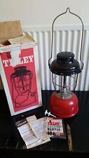 VINTAGE TILLEY X246B STORMLIGHT RETRO CAMPING ETC BOXED RED BASE LAMP LATERN