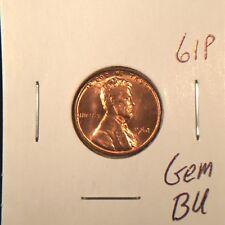1961 P Lincoln Memorial Cent Gem BU