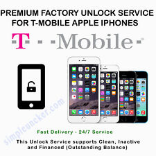 T Mobile Apple iPhone 7 7+ Unlock Service Clean Finance Inactive Express Code