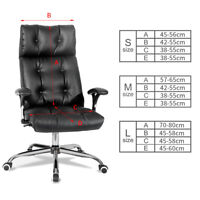 Swivel Computer Chair Cover Stretch Remove Cover Seat Slipcover Armchair Office