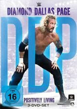 DIAMOND DALLAS PAGE - POSITIVELY LIVING  3 DVD NEW