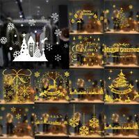 Christmas Xmas Display Snowflake Window Wall Decorations Decals Window Stickers