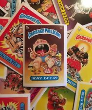 1985 UK Mini Garbage Pail Kids Original 1st Series >You Pick< Singles NRMT-MT
