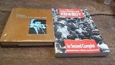 Lot de 2 livres kennedy le combat d'un homme libre + kennedy le second complot