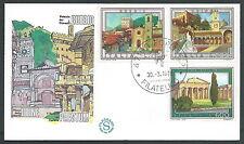 1978 ITALIA FDC FILAGRANO TURISTICA NO TIMBRO ARRIVO - EQ