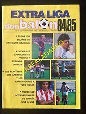 DON BALON EXTRA LIGA 84-85 1984-1985 FUTBOL