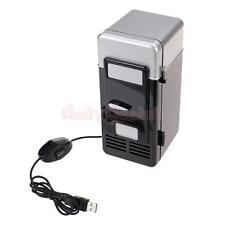 Mini PC USB Refrigerator Fridge Beverage Drink Can Cooler Warmer