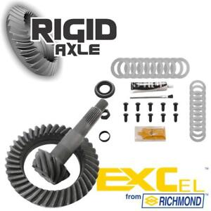 """Early GM 7.5"""" 10 Bolt Richmond Excel 3.55 THICK Ring Pinion Gear Set Install Kit"""