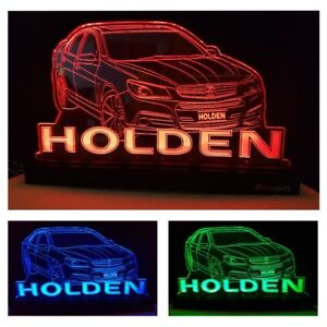 HOLDEN Car LED Light Home Decor Gift Vehicle Changing Colours Remote