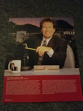 LARRY SANDERS THE LARRY SANDERS SHOW MAGAZINE ADVERTISEMENT PRINT AD