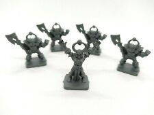 Vintage Heroquest 1x Chaos Warlock & 4x Chaos Warriors - Replacement Parts