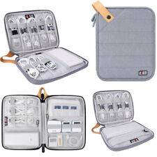 Organizer Bag Case for iPad Tablet iPhone Cable Earphone Power Charger Universal