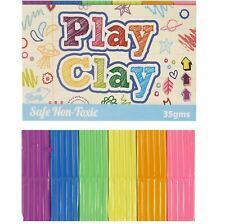 4 X Mini Modelling Play Clay Dough Putty Kids Children Party Filler School Toy