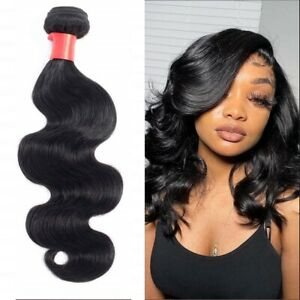 1pc/100G Body Wave human hair natural color 14inches Extensions Weaving weft