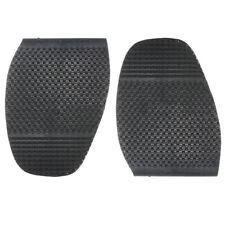 Black Anti Slip Grip-rubber Pad Men's Soles Heel Shoes Repair Replacement Parts