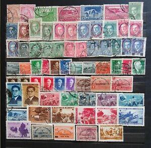 ALBANIEN - SAMMLUNG 1913-1954 GEBRAUCHT