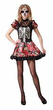 Day Of The Dead Doll, Womens Halloween Costumes, Fancy Dress #US