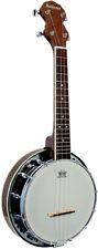 Ashbury AB-34 Ukulele/Banjo Banjolele. NOCE RIM, risonatore. da Hobgoblin