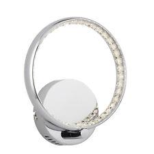 Searchlight 3111CC Rings LED Wall Bracket Chrome Clear Crystal