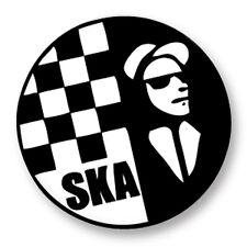 Pin Button Badge Ø38mm SKA Punk Music Skinhead Mods Rude Boys