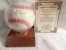 Yogi Berra Autographed Signed Baseball 10 GEM MINT COA New York Yankees HOF