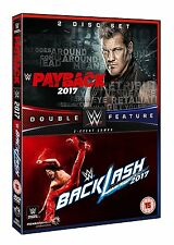 WWE Payback 2017 + Backlash 2017 [DVD] *NEU* Raw + Smackdown PPV Double Feature