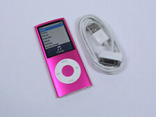 Apple iPod Nano 16GB 4th Gen Generation Pink MP3 WARRANTY