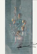 Tarjeta de arte/Postcard Art-Oskar Schlemmer: enseñanza II