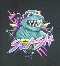 Slash TMNT T-shirt size mens XL Teenage Mutant Ninja Turtles