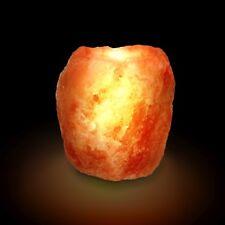 1 x Salzkristall Teelichthalter 900- 1200g von Biova