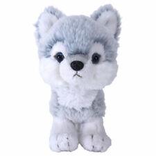 Baby Wolf (blue) Fluffy Plush cute & realistic