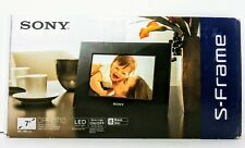 "Sony S-Frame 7"" Digital Picture Photo Frame (DPF-D710) Black"