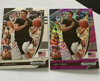 Panini Prizm Draft Picks 2020 LaMelo Ball Pink Wave and Base RC Rookie Card