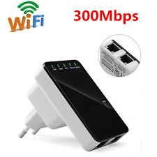 300Mbps Wireless 802.11N AP Wifi Range Repeater Router Signal Booster Extender