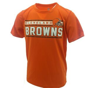Cleveland Browns Football Kids Youth Size NFL Athletic T-Shirt New With Tags