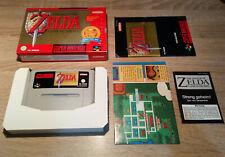Super Nintendo SNES // Legend of Zelda - A Link to the Past +OVP +Anl.// PAL CIB