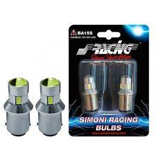 coppia lampadine LED filam singolo CAN BUS Simoni Racing BA15S ROSSO
