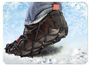 Ezyshoes Walk Ice Grips - No Spikes or Chains