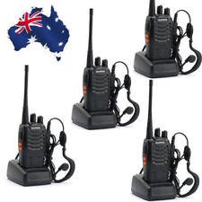 4Pcs Baofeng BF 888S Walkie Talkie 1500MAH UHF 400-470MHz 16CH 5W Two Way Radio