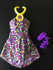 Barbie So In Style SIS Trichelle Animal Print Dress W Replacement Shoes