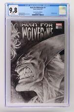 Hunt for Wolverine #1 - Marvel 2018 CGC 9.8 - Remastered Sketch Edition!