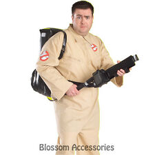 C97P Licensed Ghostbusters Mens Fancy Dress Halloween Adult Costume - PLUS